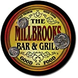 Millbrooks Family Bar and Grill Patriotic Rubber Drink Coaster Set