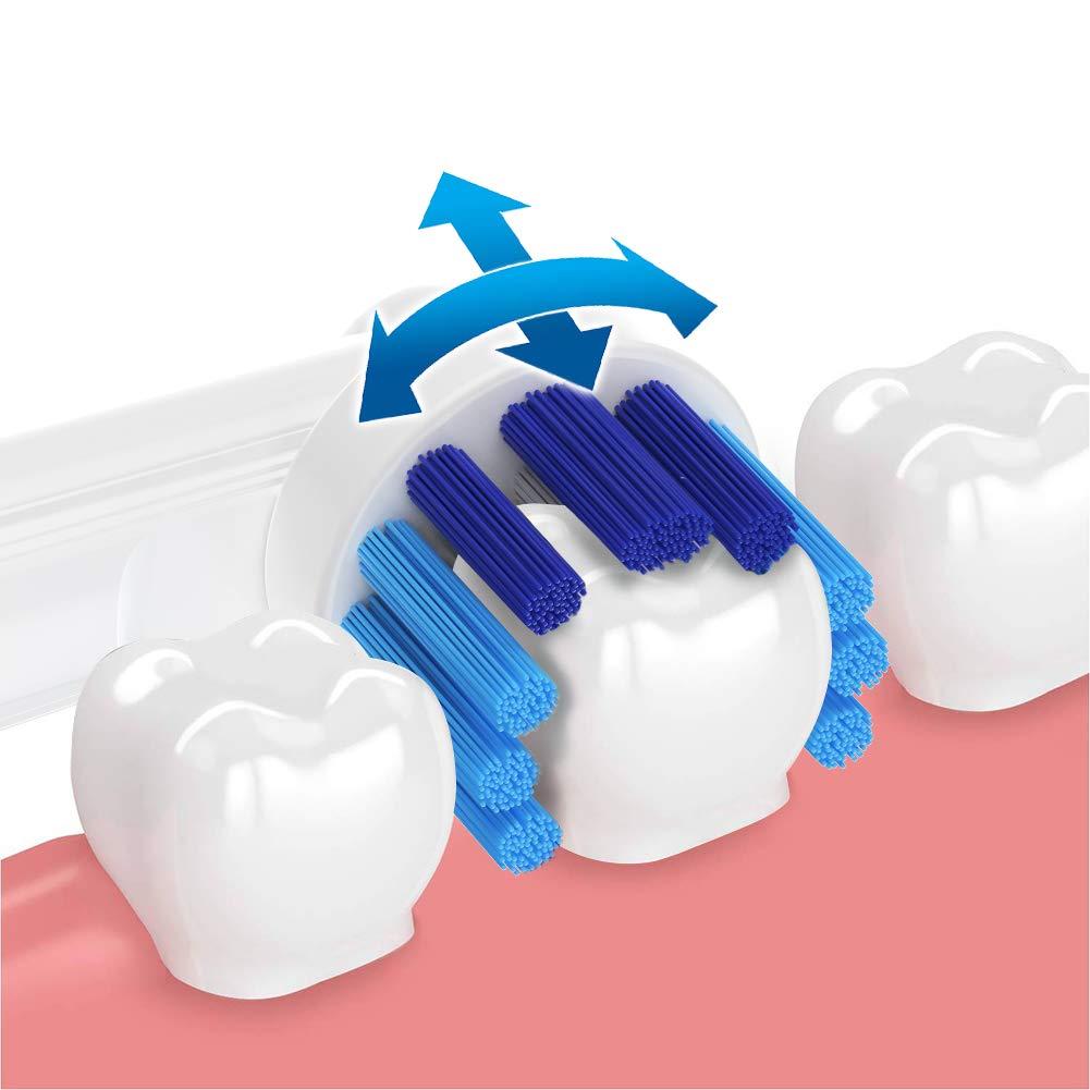 Recambios Cepillo Oral B Cabezales cepillo elétrico diente profesional Cabezales de Cepillo Oral B Compatible y Limpieza eficiente - Paquete de 16: ...