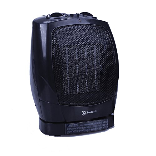 Homegear 1500W Ceramic Heater With Electric Oscillating