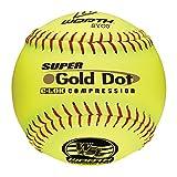 Worth Sports Pro Tac Super Gold Dot W00517272 Softball 12'' 44/400, Yellow
