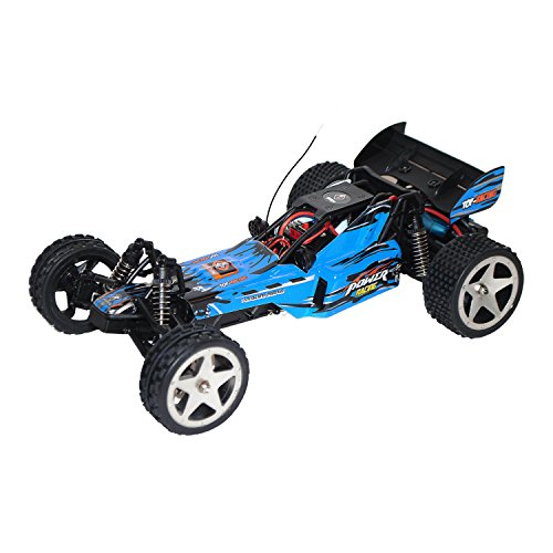 (ALEKO RCC66959BLUE 2.4G Brushed Electric Powered Off-Road Buggy (1:12 Scale))