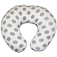Premium Nursing Pillow Cover | Etched Polka Dot Slipcover | Best for Breastfe...