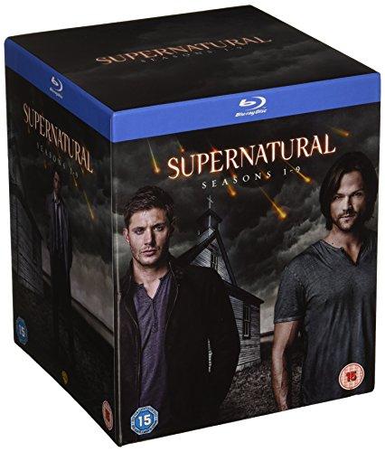 Supernatural Seasons 1-9 Complete Series [Blu-ray][Region-Free] by