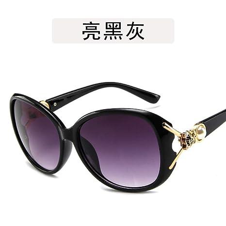 Yangjing-hl Ojo de Gato Gafas Decorativas Gafas de Sol con Cabeza ...
