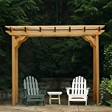 Creekvine Designs New Dawn Cedar Pergola