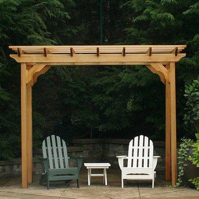Creekvine Designs New Dawn Cedar Pergola