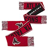 NFL Youth Boys Scarf-Crimson-1 Size, Atlanta Falcons
