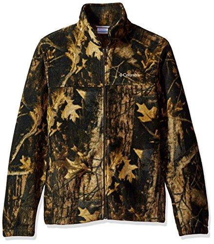 - Columbia Men's Cascades Explorer Full Zip Fleece Jacket, Steens Mountain Print, Medium