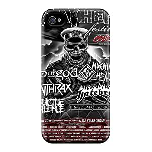Iphone High Quality Tpu Case/ Mayhem Band Nfc126MQYP Case Cover For Iphone 4/4s