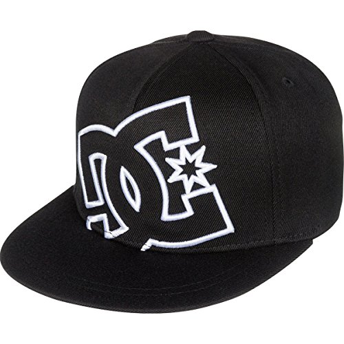 DC 2016 Little Boys' Ya Heard 2 Flexfit Hats, One Size,Black (Dc Hat For Boys)
