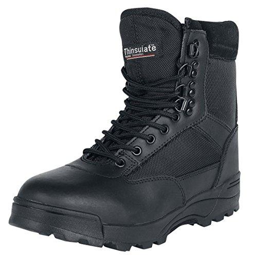 Brandit Tactical bottes Noir - Noir buKFe