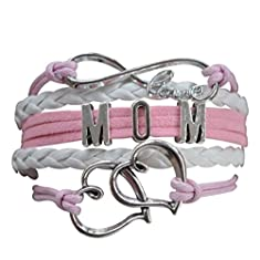 Mom Bracelet, Infinity Bracelet, Makes the Perfect Gift For Moms
