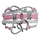 Mom Bracelet, Mom Jewelry, Mom Infinity Bracelet, Makes the Perfect Gift For Moms