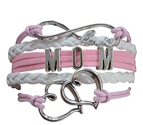 Mom Bracelet, Mom Jewelry, Mom Infinity Bracelet, Makes The for Moms