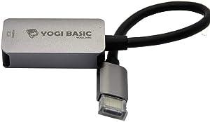 Yogi Basic USB-C to HDMI 4K/60Hz Video Adapter for MacBook Pro, Chromebook, Dell XPS, Rugged Aluminum Casing, [Thunderbolt 3 Compatible] USB C Type-C