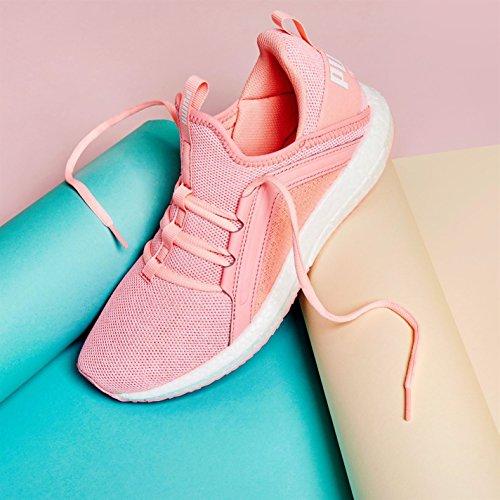 Sneakers Baskets Pêche Mega Knit course Official Puma à Courir femme Chaussures de Jogging Shoes Nrgy pour pied q7xaZA