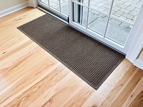 (Hudson Exchange 4206 Waterhog Fashion Floor Mat Runner, 60