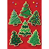 Toland Home Garden Christmas Cookies 12.5 x 18 Inch Decorative Holiday Cookie Dessert Tree Garden Flag