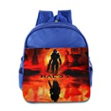 download ebook xjbd custom cool halo 5 guardians  kids children school bag backpack for 1-6 years old royalblue pdf epub