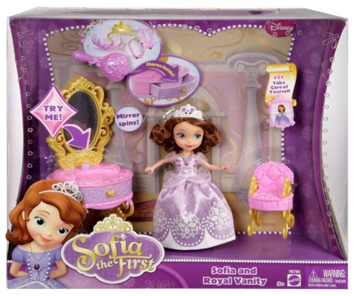 092234003834 - Disney Sofia The First Ready for The Ball Royal Vanity carousel main 6