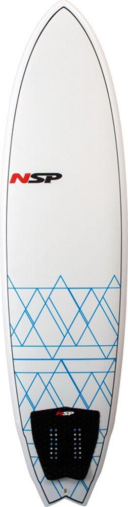 NSP 7 0 Fish EPOXY E2 - Tabla de Surf, 70 Fish Epoxy E2, White/Blue: Amazon.es: Deportes y aire libre