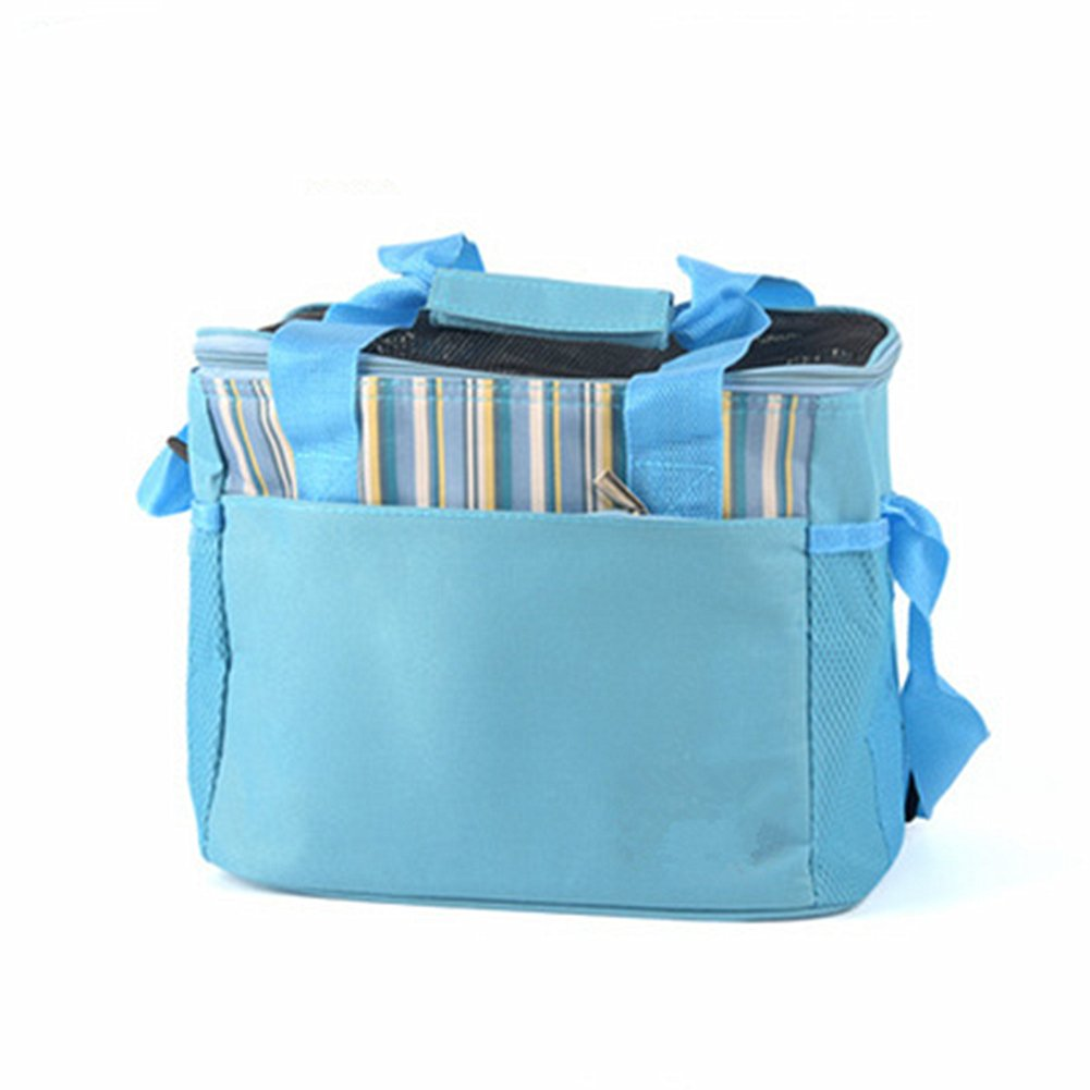 Portable Small Pet Breathable Carrier Bags Handbags Travel Backpack for Hedgehog Hamster Sugar Glider Squirrel Chinchilla Guinea pig Rabbit (Triangle Brown) Yijiujiu