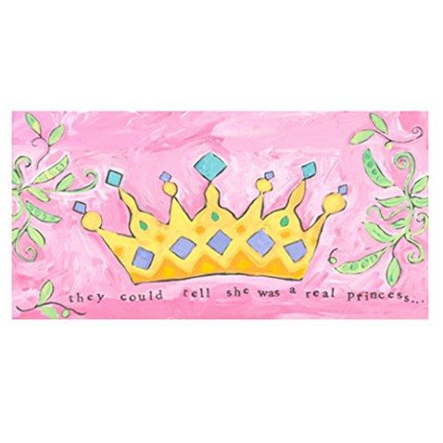 Princess Crown Canvas Wall Art (Oopsy Daisy Princess Crown Canvas Wall Art)