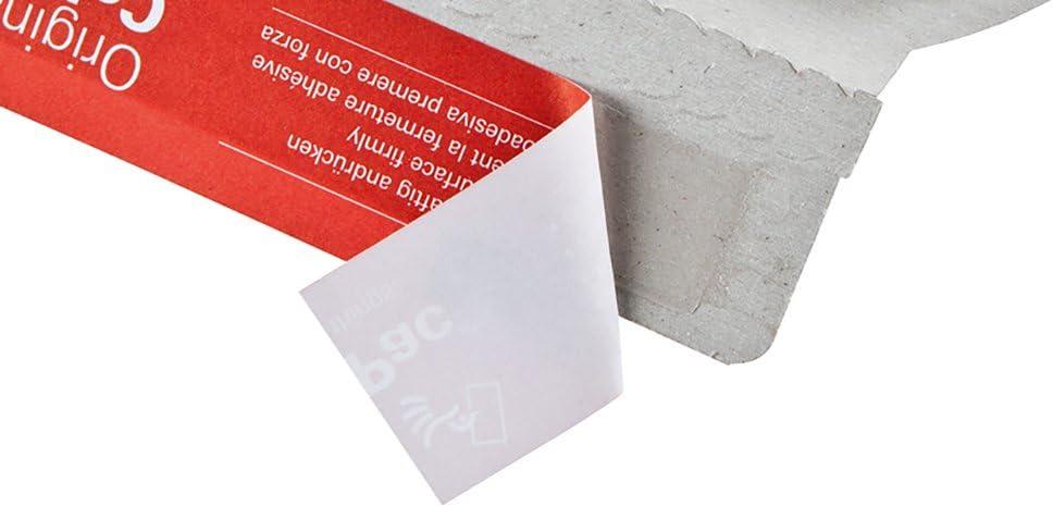 ColomPac CP012.02 ColomPac CP012.02 Versandtasche aus Vollpappe 210x265x30mm PK100 mit Selbstklebeverschluss Knickschutz und umlaufenden Kantenschutz Variable F/üllh/öhe bis 30mm weiss