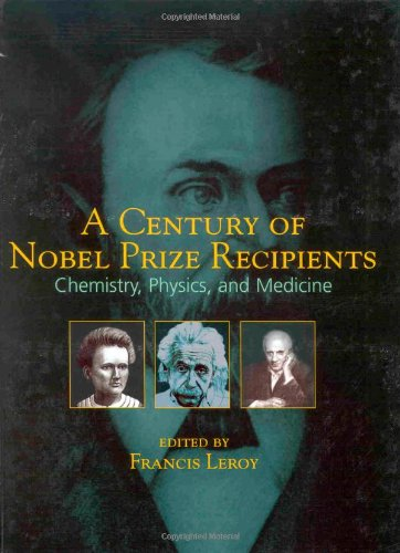 A Century Of Nobel Prize Recipients  Chemistry  Physics  And Medicine  Neurological Disease   Therapy