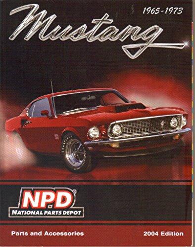 Mustang Parts & Accessories, 2004 Catalog, National Parts Depot