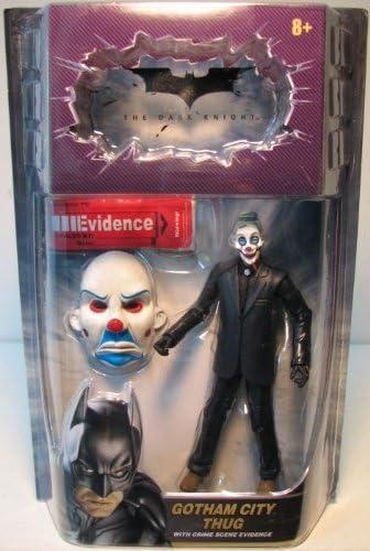 Gotham City Thug Happy Mask Movie Masters The Dark Knight Movie 6 Inches Action Figure