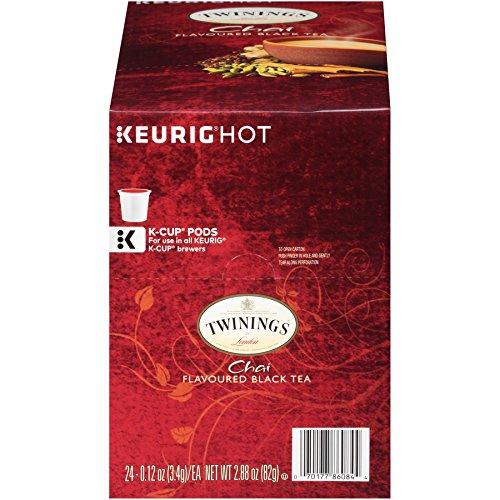 Twinings Chai Keurig K Cups Count