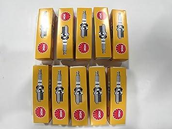 Diez NGK único Bujías de electrodo, BMW F650, F700, F800 & Ducati BMW