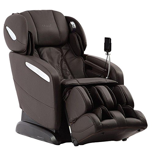OSAKI OS-PRO Maxim S L-Track Zero Gravity Massage Chair Space Saver Recliner with Heat - Brown - in-Home Delivery and Se