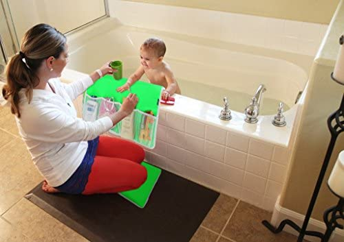 Bathtub Elbow Rest By Lebogner Stop Bruising Your Elbows Pure Cushion Comfort Elbow Guard For Baby Bathing With Storage Pockets Protects Your Elbows at Kids Bath Time Safety Easy Bath Foam Rest