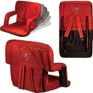 Picnic Time Tampa Bay Buccaneers Ventura Seat (Tampa Bay Buccaneers Black) from Picnic Time