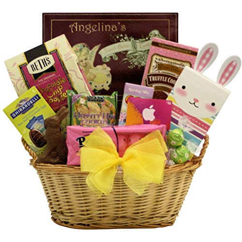 Sweet Easter Treats with iTunes Gift Card: Teen & Tween Easter Gift Basket