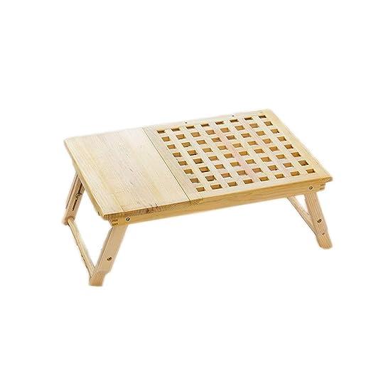 Mesa de cuaderno Bandeja plegable de la cama de la tabla de vuelta ...