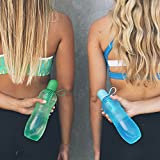 Water Bobble Sport Filtered Water Bottle, 22-Ounce [Non-Retail Packaging] Magenta