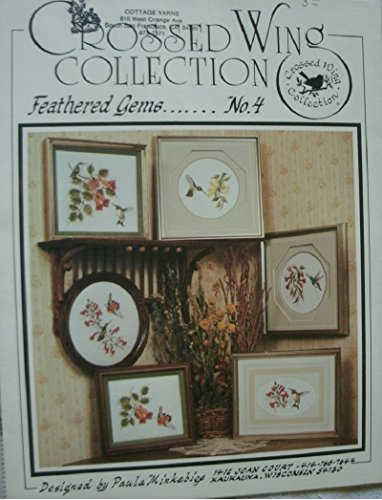 - Crossed Wing Collection Feathered Gems No. 4 Hummingbird Cross Stitch Patterns Designed By Paula Minkebige Multiple Projects