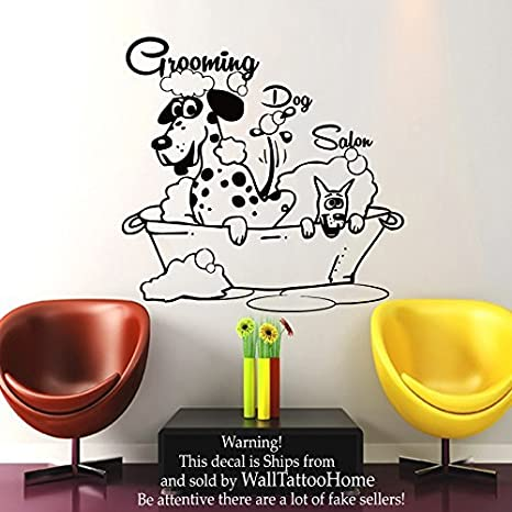 Wall Decals Dog Grooming Salon Decal Vinyl Sticker Pet Shop Scissors on retirement dogs, law dogs, school dogs, new york dogs, home defense dogs, home security dogs, food dogs, health dogs, baby dogs, pets dogs, animals dogs,