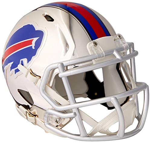 Helmet Buffalo Mini Bills Football - Riddell Chrome Alternate NFL Speed Authentic mini Size Helmet Buffalo Bills