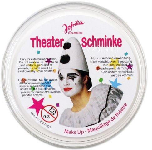 Theaterschminke weiß Make - Up Schminke Profischminke weiße Kinderschminke Farbstark