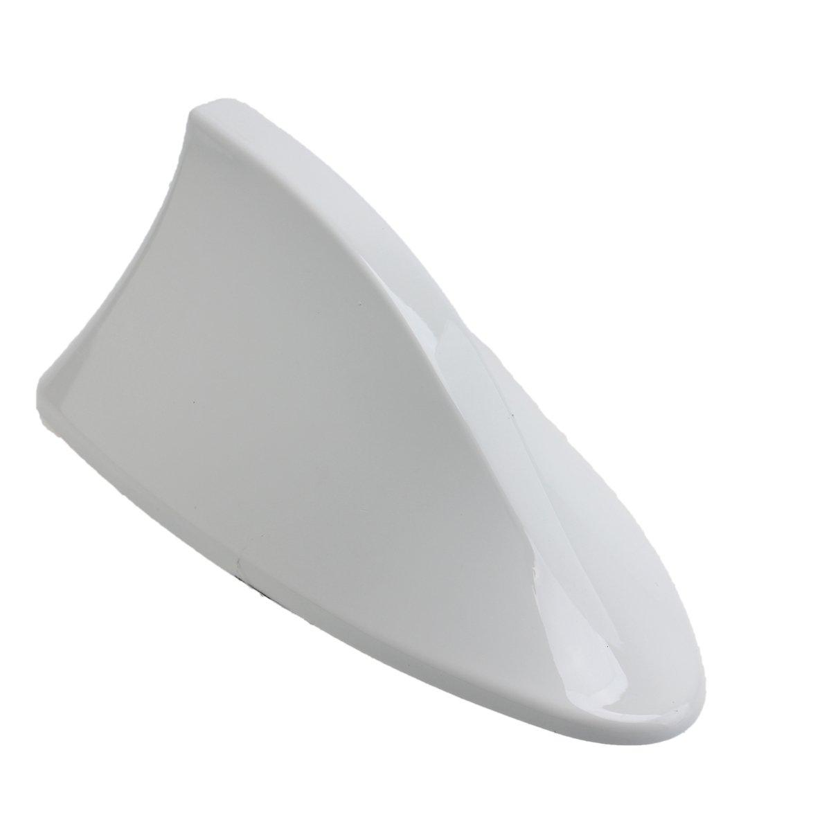 Possbay Universal Shark Haiflosse Autoantenne Dachantenne AM FM Mit Verstaerker Silber