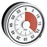 La Crosse Technology 38.1028.10 Puck Kitchen Timer, Anthracite/Black