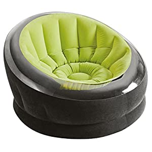 """Intex Inflatable Empire Chair, 44"""" X 43"""" X 27"""", Color May Vary, 1 Chair"""
