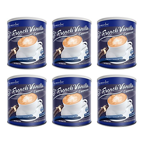 (Victorian Inn Instant Cappuccino, French Vanilla, 32-Ounce Canisters (Pack of 6))