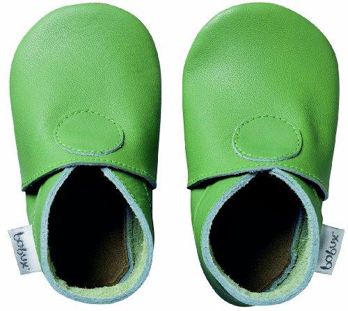 Bobux460630 - Zapatos de primeros pasos Bebé-Niños verde - verde (verde)