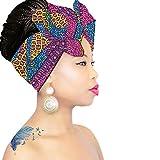Royal Head Wraps Headwrap | Headband | Black HeadScarf | Hijab | Head scarves for cancer patients Hair Loss African Scarf …