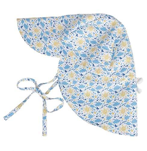 Sombrero del Bebé Gorra Niños Impreso Solar Sombrero Bebé Protector Gorra  Exterior Mode De Marca Bebé Sombrero Suave Verano Protección UV Sombreros  (Color ... 5ad865877f40